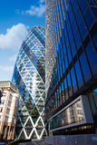 London financial district street Square Mile UK Royalty Free Stock Photos