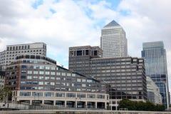 London Financial Hub Stock Images