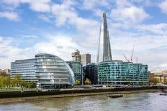 London finansiell mitt Arkivfoto