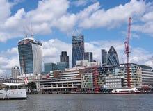 London-Finanzbezirk stockbild