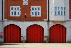 London Fire Station Stock Image