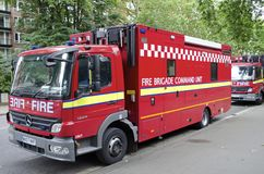 London Fire Truck Royalty Free Stock Image