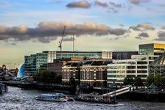 London flod Royaltyfria Bilder
