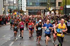 London Flora Marathon Stock Images