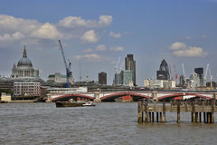 London-Flussufer Lizenzfreies Stockfoto