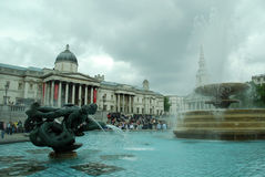 London fountain – 2 Royalty Free Stock Photography