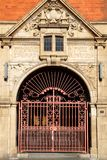 London: free library Hoxton entry gate Royalty Free Stock Images