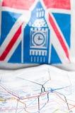 London gångtunnel Arkivfoto