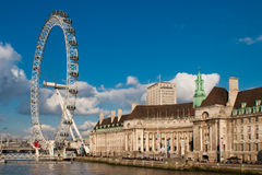 London öga Arkivfoton
