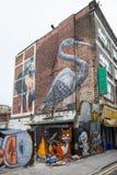 London gatakonst Arkivfoto