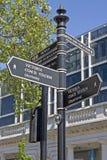 London gatavägvisare Arkivbild