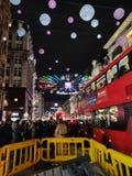 London gator arkivbilder