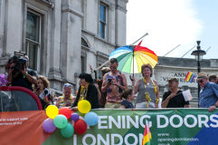 London Gay Pride Parade 2017 Royalty Free Stock Photo