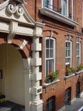 London-Gebäude-Fassade Lizenzfreies Stockbild
