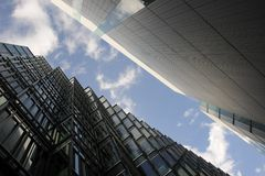 London-Gebäude und Straßen lizenzfreie stockbilder