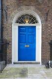 London Georgian door. London, United Kingdom - typical Georgian architecture door royalty free stock photography