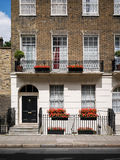 London Georgian town house Stock Images