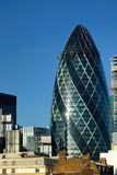 London gerkin. In the financial district Royalty Free Stock Images