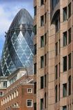 London gherkin Stock Photo
