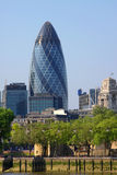 London gherkin Stock Photo