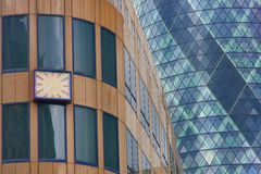 London Gherkin detail Royalty Free Stock Image