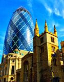 The London Gherkin Stock Photography