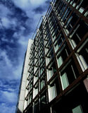 London Glass Buildings 33. A modern glass office building in central London Stock Photo