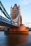 London gränsmärke Arkivfoto