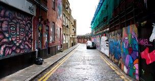 London graffiti cityscape Royalty Free Stock Images