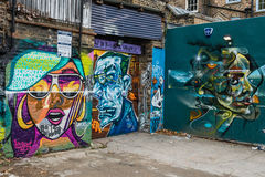 London graffiti street art Royalty Free Stock Image
