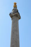 London Great Fire Monument Stock Images