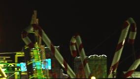 London, Großbritannien - Dezember, 16 : Hyde Park, Winterwonderland stock video footage