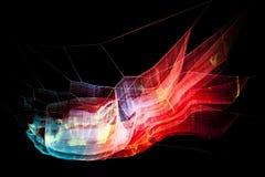 London, Großbritannien - Januar, 17: Lumiere-Licht-Festival London, 1 8 London Lizenzfreie Stockfotos