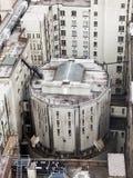 London, Großbritannien Panoramablick von London von London-Auge Lizenzfreies Stockbild
