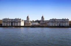 LONDON, Großbritannien - Ansicht MÄRZES Greenwich Lizenzfreie Stockfotos