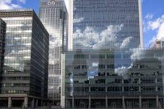 LONDON, GROSSBRITANNIEN - CANARY WHARF, AM 22. MÄRZ 2014 Lizenzfreie Stockfotografie