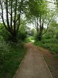 London Gunnersbury parkerar engelska som landskapet parkerar Arkivfoton