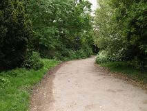 London Gunnersbury parkerar engelska som landskapet parkerar royaltyfri bild