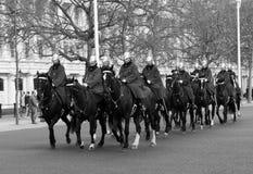 London hästvakter Fotografering för Bildbyråer