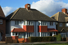 London-Häuser Stockfotos