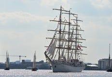 London högväxt skeppfestival Arkivfoton