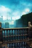 London-Hafen Stockbild