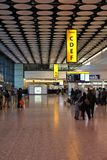 London Heathrow airport Royalty Free Stock Photography