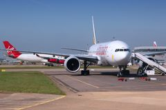 London Heathrow airport Royalty Free Stock Images