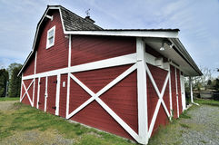 London Heritage Farm. Richmond British Columbia Stock Photo