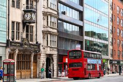 London - High Holborn Royalty Free Stock Photo