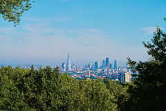 London hill skyline Royalty Free Stock Photography