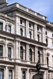 London - HM Treasury Royalty Free Stock Photography
