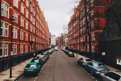 London Homes Royalty Free Stock Images
