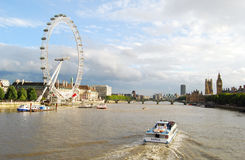 london horisont Royaltyfria Bilder